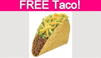 Free Taco at Taco Bell!
