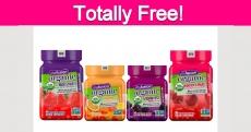 Free Gummy Supplements!