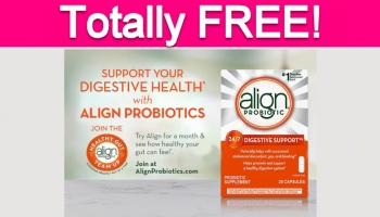 Possible FREE Align Probiotic Product!