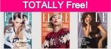 Free Subscription to Elle Magazine!