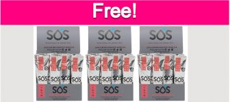 Possible Free SOS Electrolyte Drink Mix!