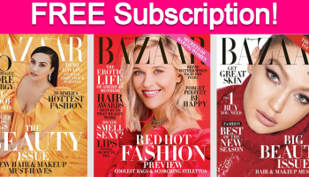 Free Subscription to Harper's Bazaar Magazine!