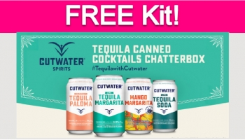 Possible Free Cutwater Spirits Tequila Kit!