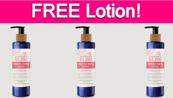 Possible Free Mommy's Bliss Blissful Belly Lotion!