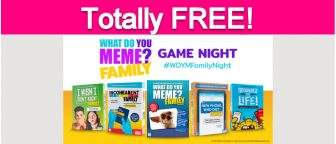Possible Free Family Game Night Kit!