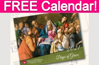 Free 2021 Catholic Art Calendar!