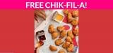 Free Chik-Fil-A Nuggets or Salad!