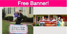 Free Welcome Home Banner!