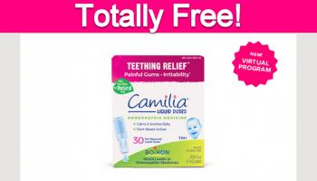 Possible Free Baby Teething Liquid!
