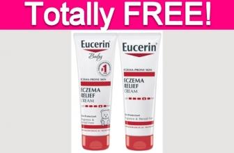 Free Eucerin Eczema Relief Product!