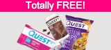 Free Products from Quest Nutrition!