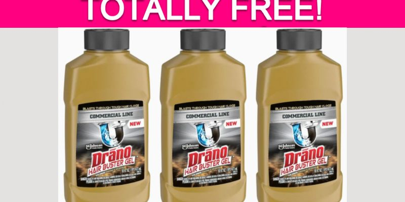 Possible Free Drano Hair Buster Gel!