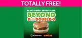 Free Beyond Sausage Sandwich!