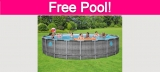 Possible TOTALLY Free Swimming Pool!