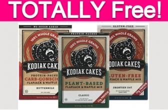 Possible Free Kodiak Cakes Products!