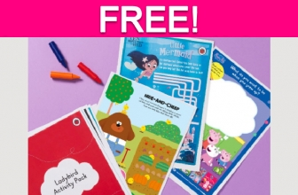 Free Kid's Activity Pack!