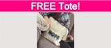 Totally Free Hope Tote Bag!