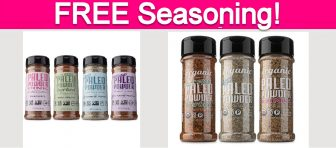 Free Paleo Seasoning Pack!