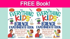 Free Kid's Science Experiment Book!