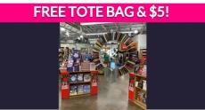 Totally Free Tote Bag & $5 Coupon!