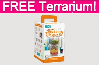 Possible Free Kid's Terrarium Kit!