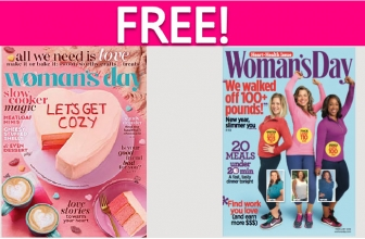 Free Woman's Day Magazine Subscription!