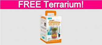 Possible Free Kid's Terrarium Kit!