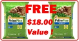 FREE ARM & HAMMER Feline Pine Litter [ $18.99 Value ] !