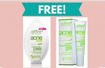 FREE Alba AcneDote Clarifying Peel Mask