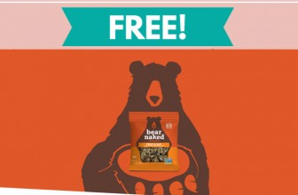 Get your paws on a FREE Bear Naked® Granola sample!