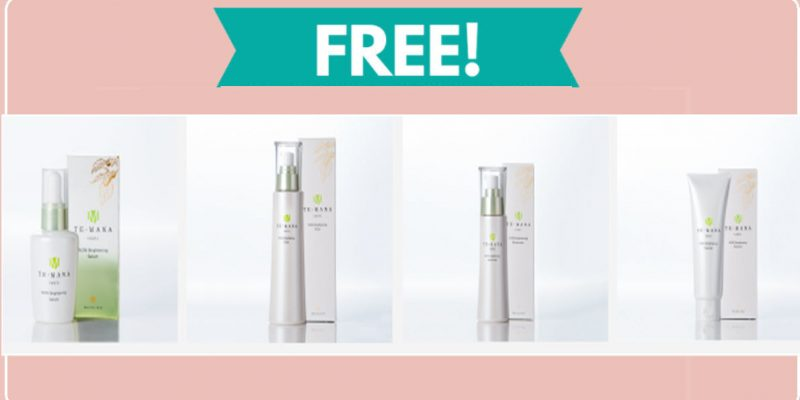 FREE Beauty Sample of Temana Face Product !