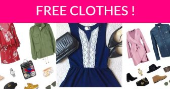 FREE Clothes or Accessories + FREE Shipping!