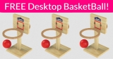 FREE Tabletop Basketball Game!
