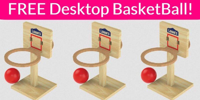 FREE Tabletop Basketball Game!