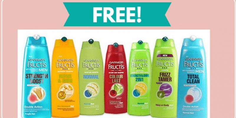 2 FREE FULL SIZE Garnier Shampoo or Conditioner!