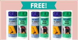 FREE NIKWAX PRODUCT By Mail! Super Easy!