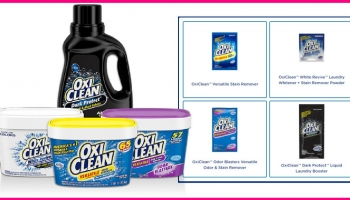 SUPER EASY OxiClean™ sample By Mail!