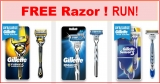 FREE Gillette Razor By Mail !