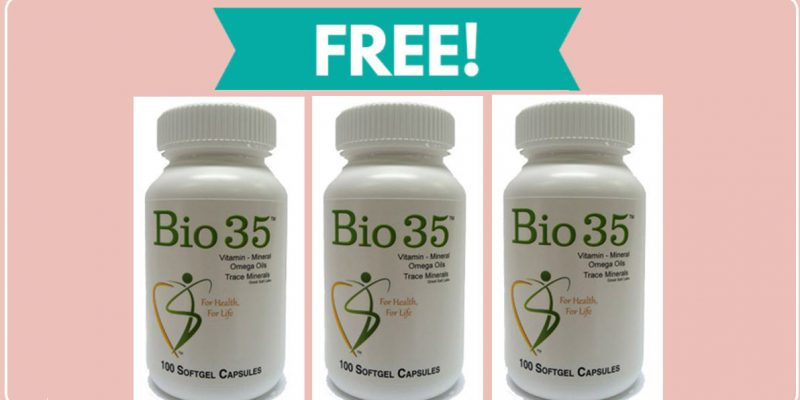 FREE SAMPLE – Bio35 Vitamin – FREE Gluten FREE Mineral Sample