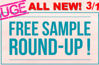 GIANT = ALL NEW = FREE Sample ROUND UP!