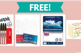 TODAY ONLY !!! FREE Sharpies & OTHER School Supplies!
