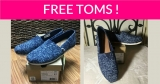FREE TOMS ! 100% FREE = FREE SHIPPING TOO!