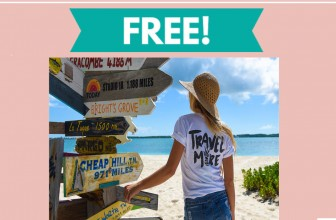 """Possible FREE """"Travel More"""" T-Shirt By Mail!"""