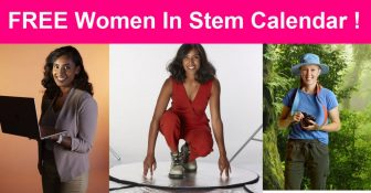 SUPER EASY! 2021 Inspirational Women in STEM Calendar!