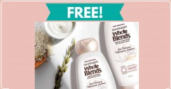 FREE sample of Garnier Shampoo & Conditioner BY MAIL !
