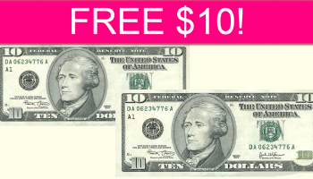 FREE $10 by Mail!