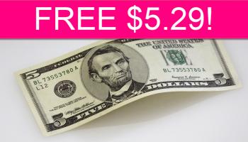 Easy! FREE $5.29 Bonus!