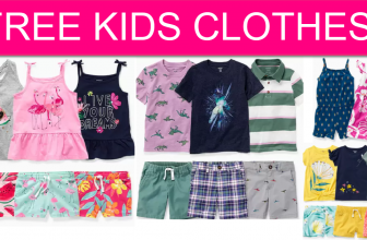 FREE Kids Clothes at Carters!
