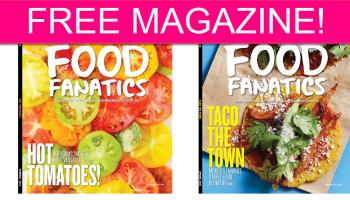 FREE Food Fanatics Magazine!