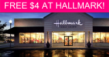 FREE $4 at Hallmark!